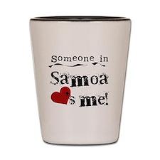 Samoa Loves Me Shot Glass