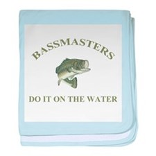 BassMasters! Do It On The Wat baby blanket