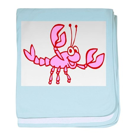 Kids Crawfish Designs baby blanket