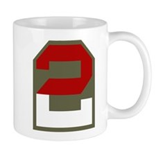 2nd Army Small Mug