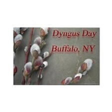 Dyngus Day, Buffalo, NY Rectangle Magnet