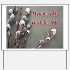 Dyngus Day, Buffalo, NY Yard Sign