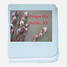 Dyngus Day, Buffalo, NY baby blanket
