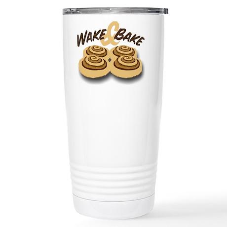 Wake and Bake Stainless Steel Travel Mug