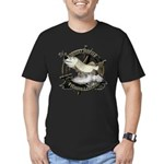 Fishing Legend Men's Fitted T-Shirt (dark)