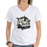 Fishing Legend Women's V-Neck T-Shirt