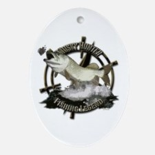 Fishing Legend Ornament (Oval)