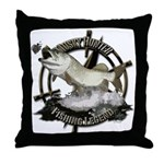 Fishing Legend Throw Pillow