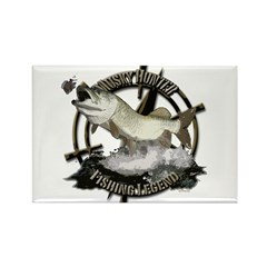 Fishing Legend Rectangle Magnet (100 pack)