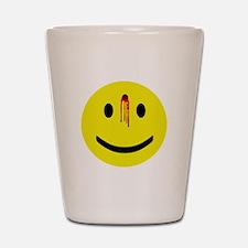 Dead Smiley Shot Glass