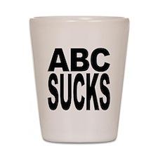 ABC Sucks Shot Glass