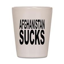 Afghanistan Sucks Shot Glass