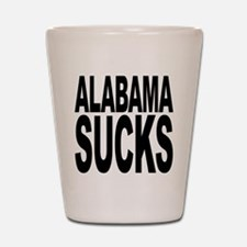 Alabama Sucks Shot Glass