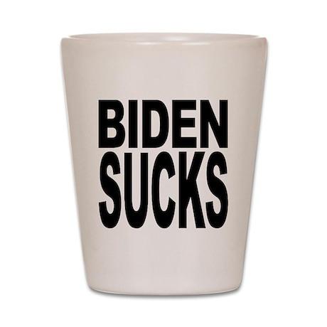 Biden Sucks Shot Glass