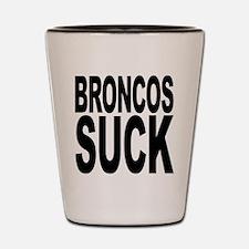 Broncos Suck Shot Glass