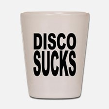 Disco Sucks Shot Glass