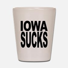 Iowa Sucks Shot Glass