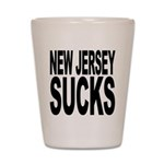 New Jersey Sucks Shot Glass