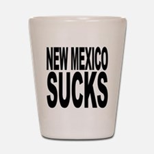 New Mexico Sucks Shot Glass