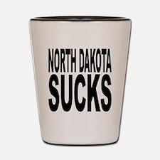 North Dakota Sucks Shot Glass