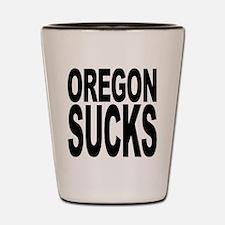 Oregon Sucks Shot Glass