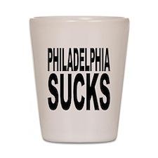 Philadelphia Sucks Shot Glass