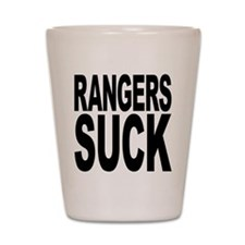 Rangers Suck Shot Glass