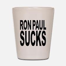 Ron Paul Sucks Shot Glass