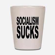 Socialism Sucks Shot Glass