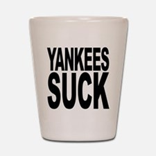 Yankees Suck Shot Glass