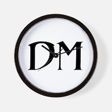 "RPG Dungeon Master ""DM"" Wall Clock"