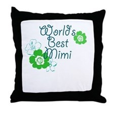 World's Best Mimi Throw Pillow