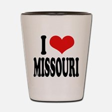 I Love Missouri Shot Glass