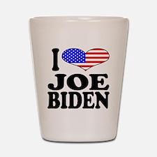 I Love Joe Biden Shot Glass