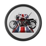 Triumph motorcycle Giant Clocks