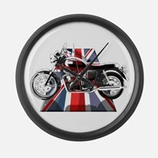 British Bonneville Large Wall Clock