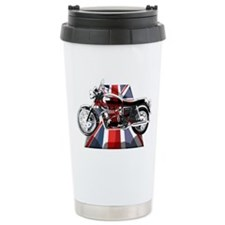 British Bonneville Thermos Mug