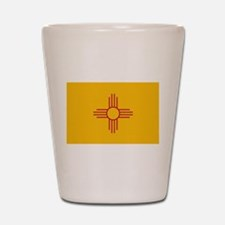 New Mexico State Flag Shot Glass