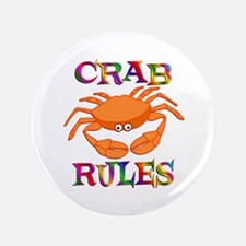 """Crab Rules 3.5"""" Button"""