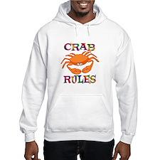 Crab Rules Hoodie