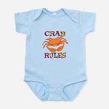 Crab Rules Infant Bodysuit