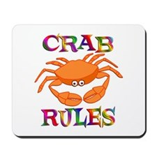 Crab Rules Mousepad