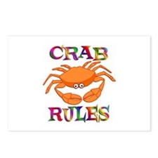Crab Rules Postcards (Package of 8)