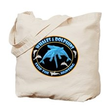 Stop Hunting Whales Tote Bag