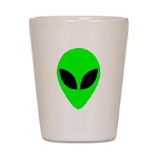Alien Head Shot Glass