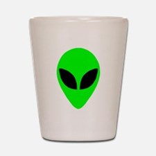 Alien Head Shot Glass