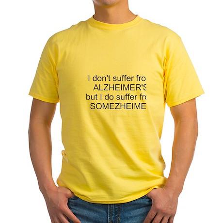 SOMEZHEIMER'S Yellow T-Shirt