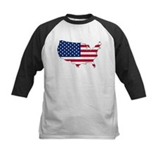 Funny Us flag Tee