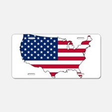 Cool United states map Aluminum License Plate