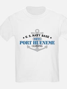 US Navy Port Hueneme Lake Bas T-Shirt